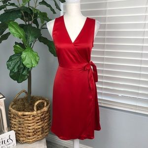 NWT A NEW DAY RED SUPER SOFT DRESS
